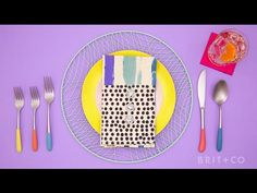 Brit + Co DIY Plasti-Dipped Silverware | zulily