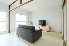 MUJI×UR 団地リノベーションプロジェクト MUJI×UR Plan 03 | 無印良品の家 Muji Home, Japanese Architecture, Japanese House, Muji House