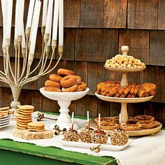 Fall Dessert Table   SouthernLiving.com