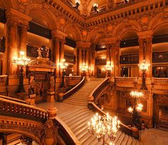 They don't make buildings like the Paris Opera anymore...