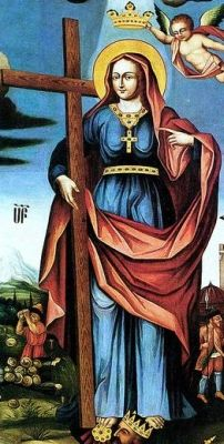 Saint Rhipsime - Virgin martyr, executed with a group of fellow Christian in Armenia. She and her fellow victims are honored as the first Christian martyrs of Armenia. Many highly fanciful tales have grown up to fill in the blanks in her life story.