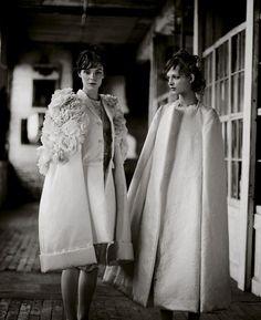 Cherchez La Femmer | Kinga Rajzak and Daga Ziober by Boo George for T Style, Spring 2012