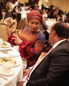 Samira Bawumia at the Yale Association for African Peace and Development Annual Conference