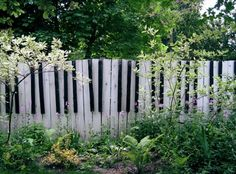 Fence art: Piano keys