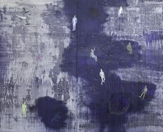 Luca Grechi, Oblio  2012, tecnica mista su tavola, 220 x 274 x 4 cm