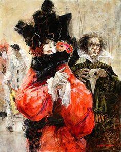 Marcel Nino Pajot Marcel, Art Painting, Painter, Artist, Painting, Illustration Art, International Art, Drawing Skills, Masks Art