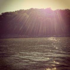 centerhill lake. last day of summer.