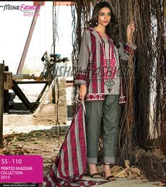 5be6ff5e Winter #dresses are here with to warm you up with the stylish appearance!  PKR: 1500 / USD: $15 Place your order ☛ {+92-322-3504542} #Printedkhaddar  ...