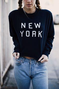 Brandy ♥ Melville | Nancy New York Sweatshirt - Graphics