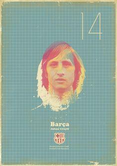 Vintage football posters from designer Zoran Lucić. Love them!