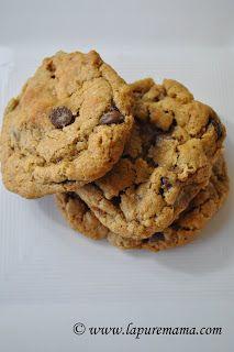 la pure mama.: Vegan Oatmeal Chocolate Chip Cookies