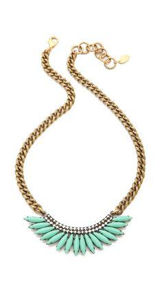 Elizabeth Cole Mohawk Necklace #madeinusa
