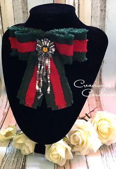 Bow brooch Gucci Moño victoriano tipo Gucci Inspiración Gucci Accesorios dc7a58d861d