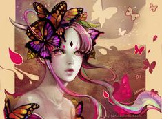 Butterfly Dance by Chucky-tan.deviantart.com on @deviantART