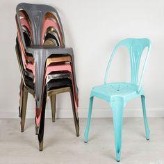 Industrial Bistro Chair