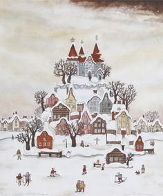 Marit Björnegran. Love her illustrations. I have the honor of collecting her prints.