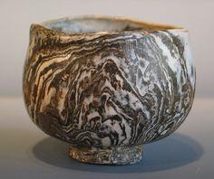 Neriage Chawan Japanese Style Hand Formed Nerikomi Tea Bowl - George Watson