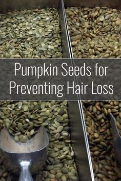 Raw pumpkin seeds are a high protein and mineral rich food that have some specific benefits for hair loss prevention and protecting men against prostate problems.  Heres just what makes pumpkin seeds so good for both maintaining your hair and improving