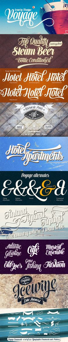Voyage by Fenotype | 21 Best Selling Beautiful Fonts Bundle Jan 15