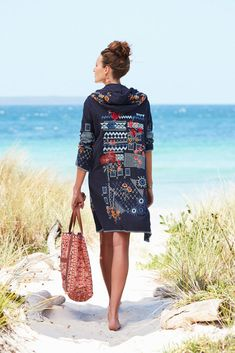 Vacation Ready: Beach Bag Essentials - Johnny Was Bohemian Style, Boho Chic, Casual Beach Outfit, Johnny Was Clothing, Boho Outfits, Beach Outfits, Affordable Clothes, Cardigans For Women, Boho Fashion