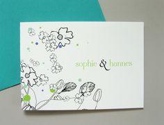 Hochzeitseinladung SPRING | Frühling, wedding invitation