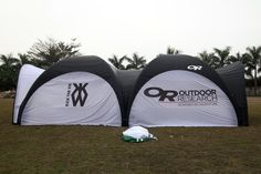 China 10 Meters Dome Inflatables Tent with 0.11 TPU , Connecting and Poison Free Material supplier