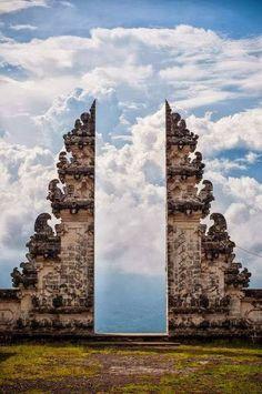Door to the sky - the beautiful Pura Lempuyang Door, Bali, Indonesia