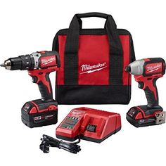 Perfect Milwaukee CX M Cmpt Brushless Hammer Drill Impact Kit Read more at the image