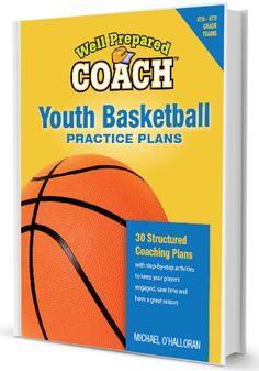 A basketball practice plan can make a huge difference in a team's success. The Well Prepared Coach plans feature agendas for 30 practices with minute-by-minute breakouts of each exercise, along with key coaching points, basketball Basketball Practice Plans, Basketball Awards, Basketball Games For Kids, Basketball Schedule, Street Basketball, Basketball Systems, Basketball Tricks, Basketball Workouts, Basketball Skills