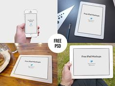 This is the second part of a mockup set designed by Regy Perlera. It includes some iPad & iPhone5s mockups that you can use for showcasing y...