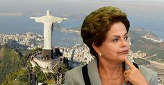 Dilma tiene el Cristo de espaldas