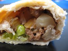 Albion Cooks: English Food is Not a Joke (Vegetarian Cornish Pasties)  *use a butter substitute