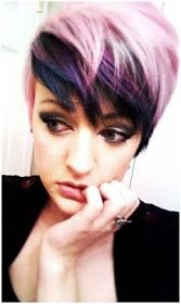 Crazy Colors for Short Hair!