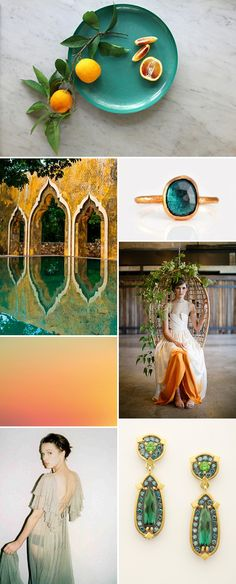 Cold Tangerines - Moroccan inspired Moodboard!