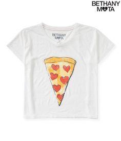 Pizza Boxy Graphic T