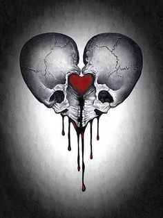 ~Gothic Art Would be good as a tattoo. I'll have to have a go at drawing this. Skull Tattoos, Body Art Tattoos, Tattoo Drawings, Tattoo Art, Tatoos, Totenkopf Tattoos, Skull Artwork, Gothic Artwork, Geniale Tattoos