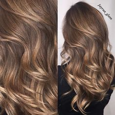ALD: balayage Placement, but with more honey / carmel instead of blonde