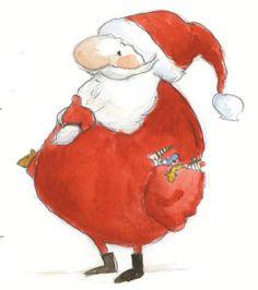 cute illustration by Irisz Agócs Dream Illustration, Winter Illustration, Christmas Holidays, Christmas Crafts, Xmas, Jingle Bells, Artist At Work, Illustrators, Art Gallery