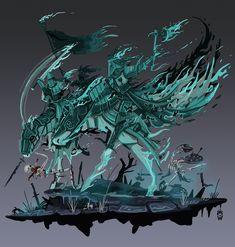 Wolfdawgartcorner (u/Wolfdawgartcorner) - Reddit Warhammer Art, Warhammer Fantasy, Warhammer 40000, Fantasy Battle, Dark Fantasy Art, Character Aesthetic, Character Art, Character Ideas, Altar