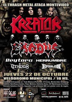 Kreator   Exodus en Montevideo. 090041f12