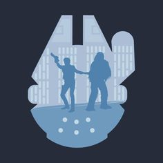 Awesome 'Han+and+Chewie' design on TeePublic! - Funny Cool Shirt (SciFi Tshirts)