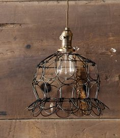 "Country chic light, lights up my ""Country Living"" dream porch.  #countryliving #dreamporch"