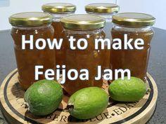 How to make Feijoa Jam Video Making Recipes - Amazing Foods Menu Recipes Healthy Eating Tips, Healthy Nutrition, Healthy Recipes, Chutney Recipes, Jam Recipes, Cooking Tips, Cooking Recipes, Marmalade Recipe, Vegan Sauces