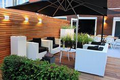 Backyard Patio, Backyard Landscaping, Back Garden Design, Outdoor Spaces, Outdoor Decor, Back Gardens, Ibiza, Garden Inspiration, Home And Living
