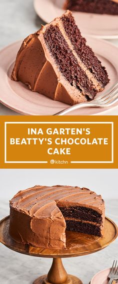Ina Garten Has a Clever Trick for Making the Best Chocolate Cake Ever Ina Garten Chocolate Cake, Beattys Chocolate Cake, Chocolate Flavors, Barefoot Contessa Chocolate Cake, Chocolate Cake Recipes, Best Ever Chocolate Cake, Chocolate Pasta, Köstliche Desserts, Delicious Desserts