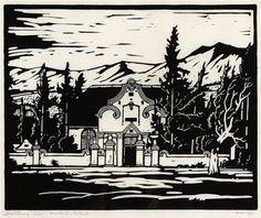 Kruiskerk, Tulbagh by Jacob Hendrik Pierneef