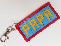 Diy Perler Beads, Perler Bead Art, Diy Gifts For Dad, Gifts For Father, Water Beads, Fathers Day Crafts, Diy Projects To Try, Craft Gifts, Kids And Parenting
