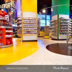 """This installation is 15,500 sq ft of Tandus Centiva LVT in custom M&M colors. Congrats to @rdweiscompanies on their win! -----------------------------------------------@rdweiscompanies """"We are very proud to announce that our work at M&M's World Time Square is the Gold Winner in the 2015 Unique Installation Challenge for the Starnet Worldwide Commercial Flooring Awards. #commercial #flooring #Starnet #RDWeis #UniqueInstallationChallenge"""""""