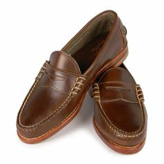 4769db8b9fa The Beefroll Penny Loafer is Rancourt s iconic shoe. Cut from unlined Horween  Chromexcel it doesn t get any more Uniquely American than this.