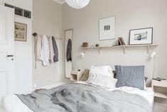 la tazzina blu: A scandi-relaxed Home Blue Bedroom, Dream Bedroom, Bedroom Decor, Serene Bedroom, Interior Exterior, Home Interior, Interior Design, Room Inspiration, Interior Inspiration